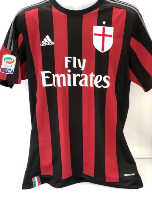 AC Milan 2015 -2016 Home Shirt 'Bacca'