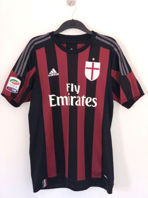 AC Milan 2015 - 2016 Home Shirt 'Bacca'