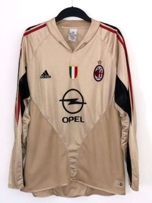 AC Milan 2004 - 2005 Third Shirt Long Sleeve 'Shevchenko'