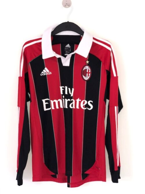 AC Milan 2012 - 2013 Home Long Sleeve Shirt