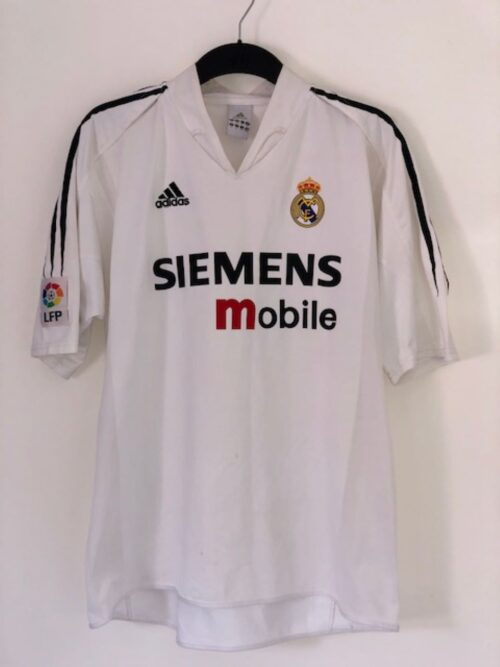 Real Madrid 2004 - 2005 Home Shirt