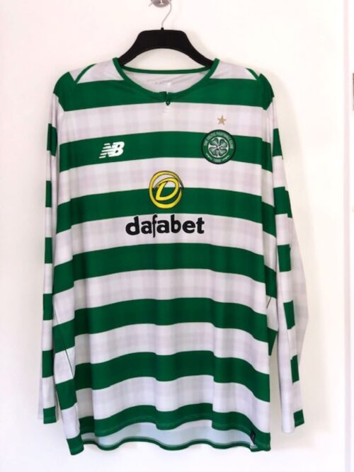 Celtic Home 2018 - 2019 Long Sleeve Home Shirt