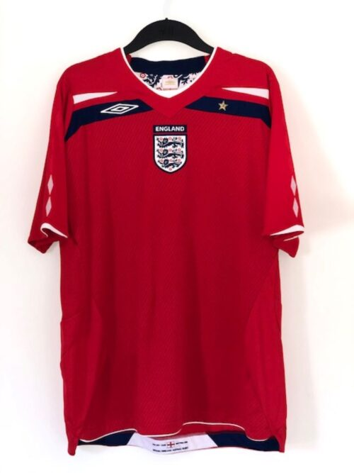 England 2008-2010 Away Shirt