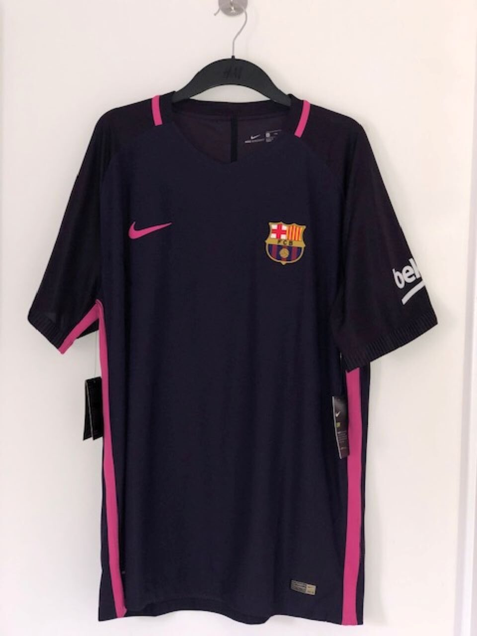Barcelona Away Shirt 2016- 2017, (BNWT)
