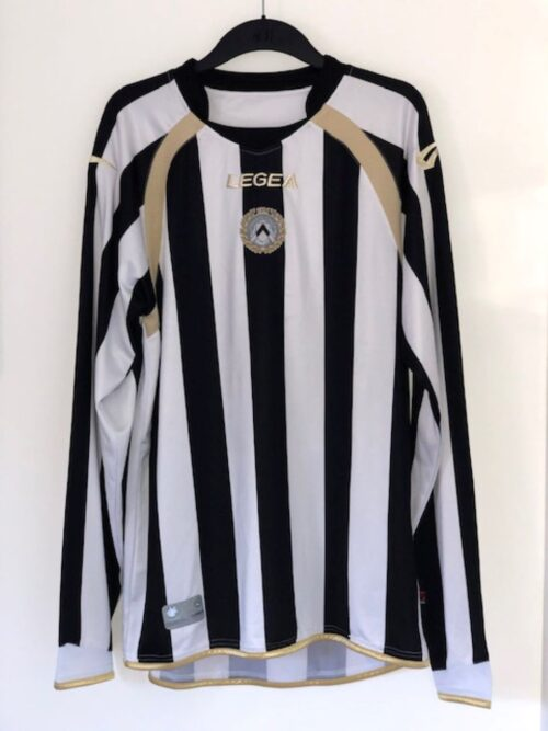 Udinese 2010 - 2011 Long Sleeve Home Shirt