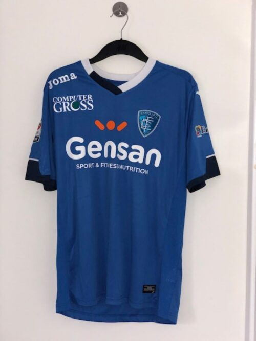 Empoli 2015 - 2016 Match- Worn Home Shirt