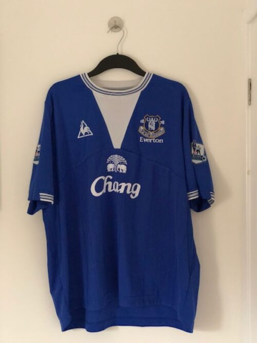 Everton 2009 -2010 Home Shirt