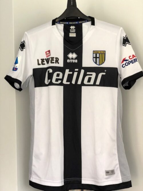 CC151 Parma 2019 20 Home Player Issue Errea XL Hernani Jr